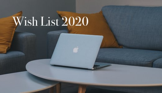 2020年、月間1万PVのアラサーブロガーが欲しいもの